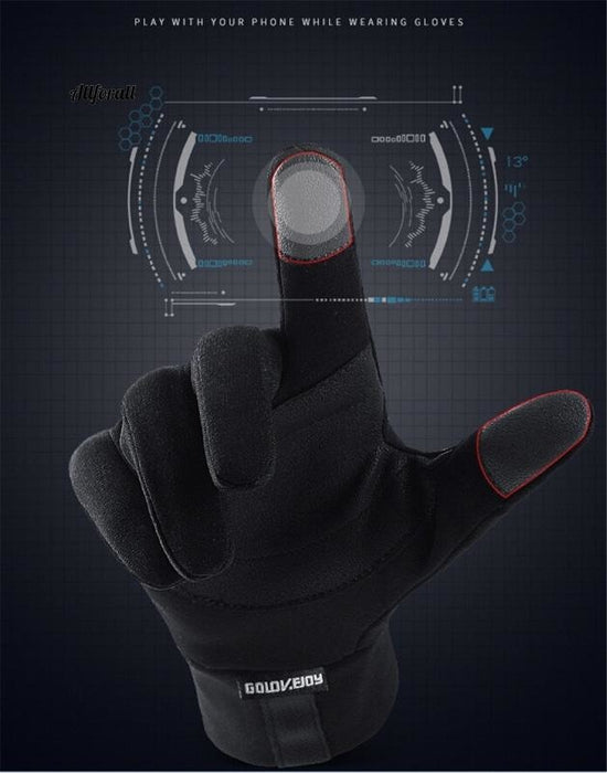 Touch Screen Sports Running Gloves, M/W Outdoor Warm Windproof Multi-function Gym Fitness Gloves for Jogging touchscreen glove allforall