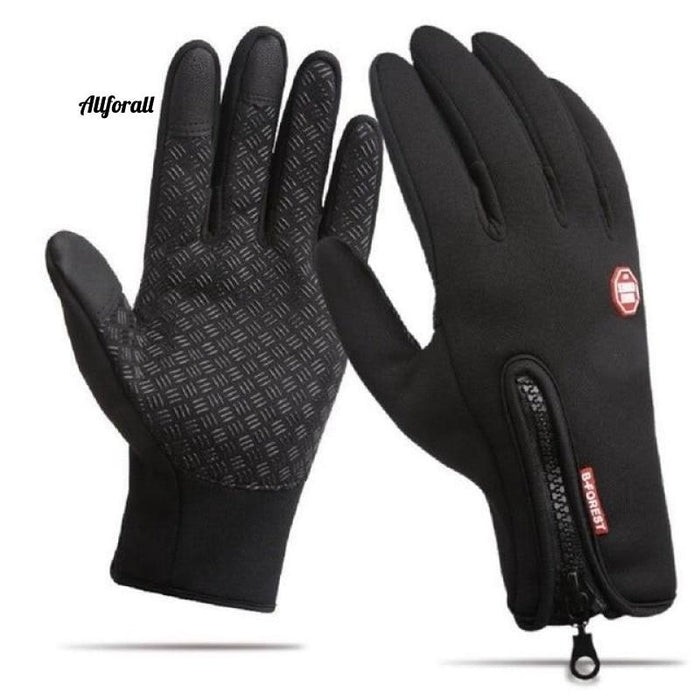 Touch Screen Windproof Outdoor Sport Gloves For M/W, Army Winter Wind Stopper Waterproof Gloves touchscreen glove allforall Black S
