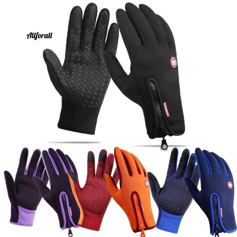 Touch Screen Windproof Outdoor Sport Gloves For M/W, Army Winter Wind Stopper Waterproof Gloves