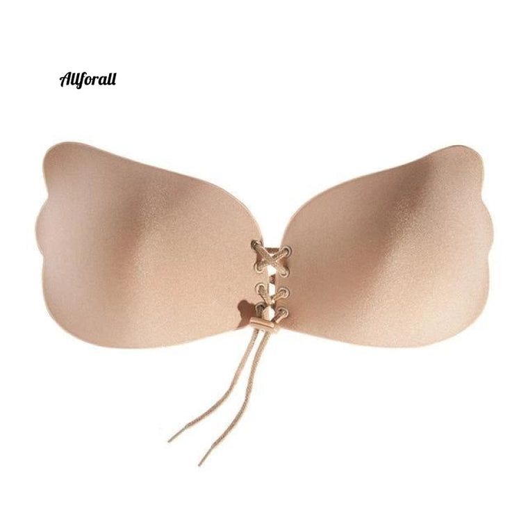 Trendy Push-Up-BH, Stil Frauen Sexy Liebsten Instant Breast Lift, Invisible Silicone Invisible Chest Paste Breast
