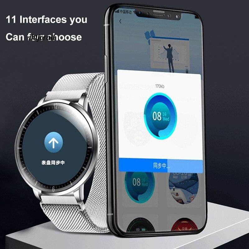 Ultrathin Full Screen Fitness Tracker With Heart Rate Monitor Ip68 Αδιάβροχο Smartwatch Smart Watch