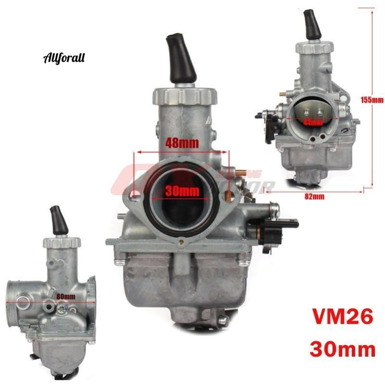 VM26 Carb PZ30 30mm Carburateur Voor CG CB 200cc 250cc, Crossmotor Motorcross, ATV Quad