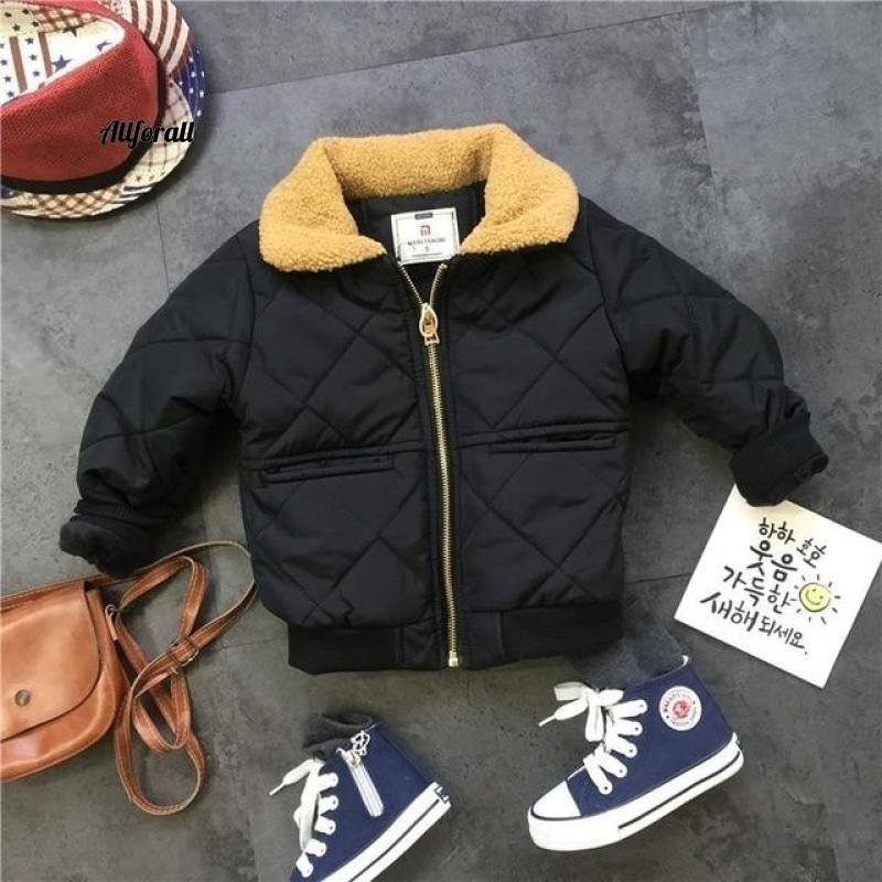 Winter Suits For Boys, Warm Thicken Jacket Coat, Letter Printing Sweatshirt Pants For Boys 3 - 7 Y kid's jacket allforall coat 5T