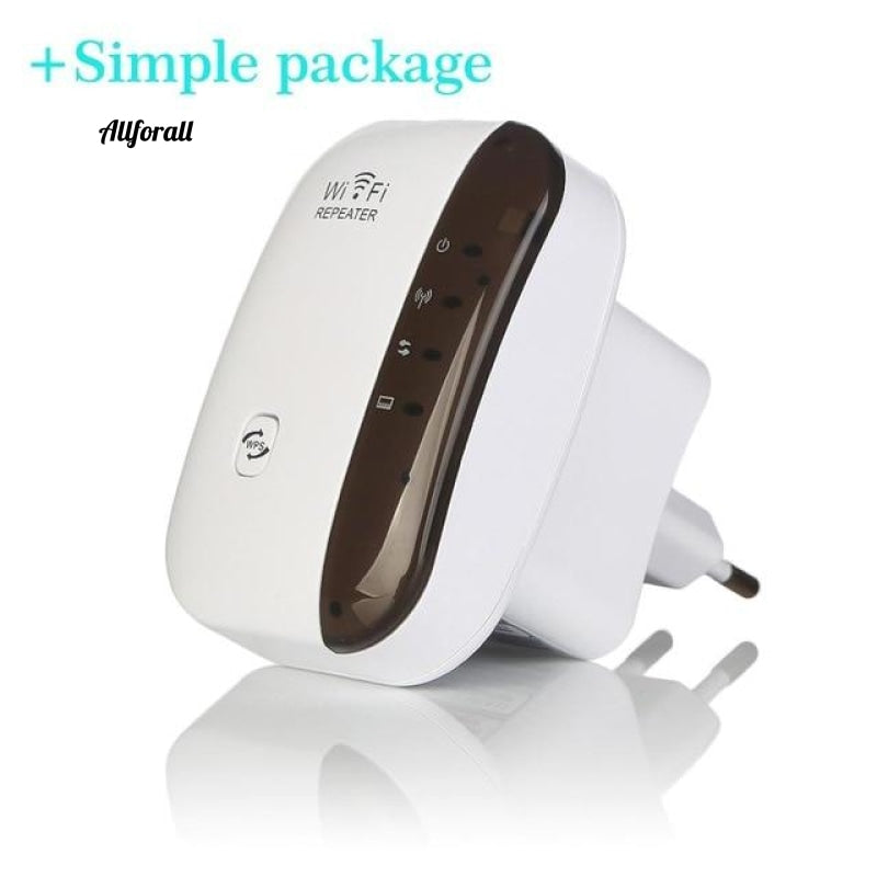 300Mbps WiFi Repeater Wireless Router Range Extender Signal Booster Amplifier US