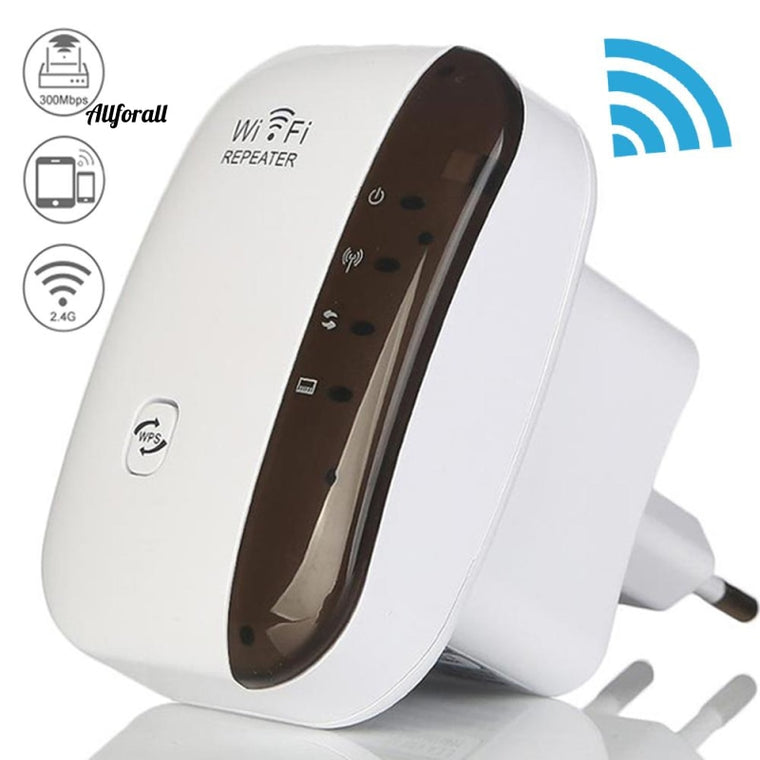 Ασύρματο Wifi Repeater, ενισχυτής σήματος Wi-Fi Router Extender, 300Mbps WiFi Booster, 2.4G WiFi Ultra-boost Access Point