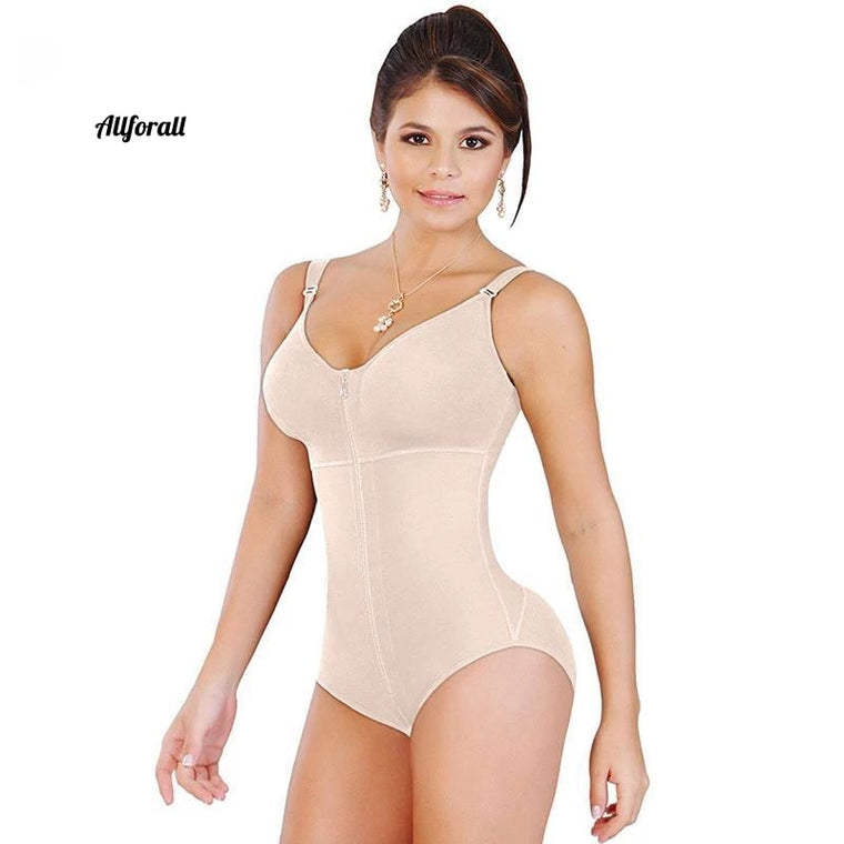 Dames Butt Lifter Full Body Scherper, afslankende buik controle Bodysuit Sharpe-wear met beha
