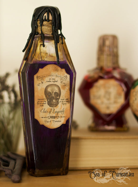 Madam Cordelia's Elixir of Longevity (Coffin)