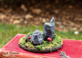 Woodland Witch Miniature Art