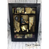 Witch/Wizard potion Cabinet/Apothecary Display