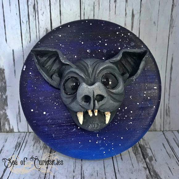 Hanging Bat Wall Plaque