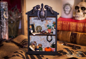 Witchy Apothecary Display