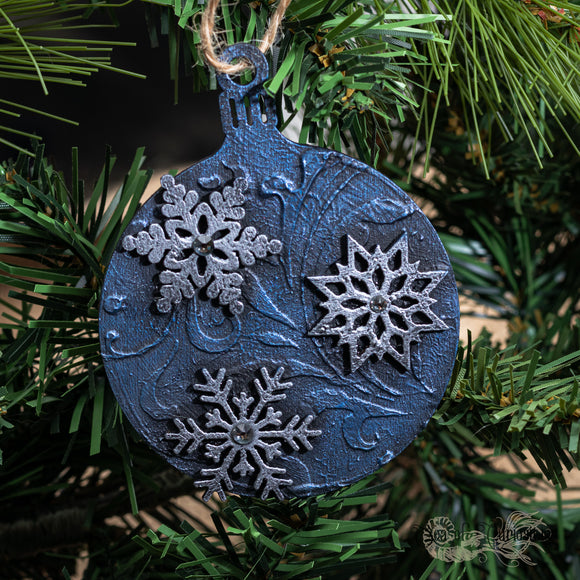 Snowy Night Gothic Christmas Decoration