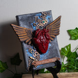 Dream without Fear Winged Heart Canvas