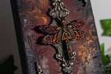 Ornate Dragonfly Gothic Canvas Art