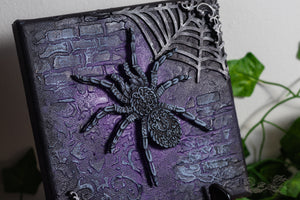 Ornate Spider Canvas Art