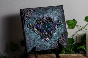 Ornate Butterfly Canvas Art