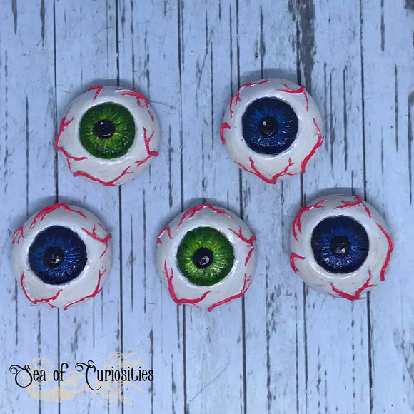 Eyeball, gothic, horror magnet