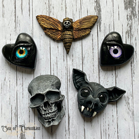 Horror, Spooky, Gothic Magnets