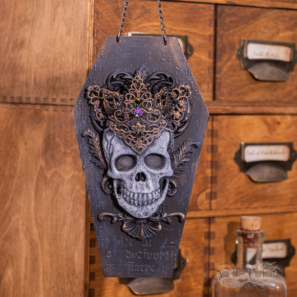 Queen of Death - Large Coffin hanger