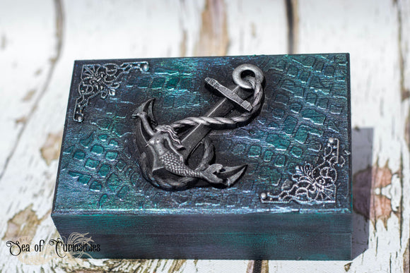 Mermaid Wooden Box