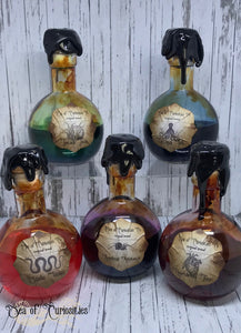 Large round Apothecary Bottles