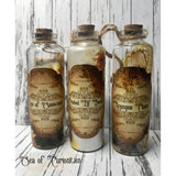 Potion Bottle Alternative Mixed Media Christmas Tree Decorations