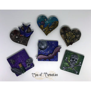 Mixed Media Magnets