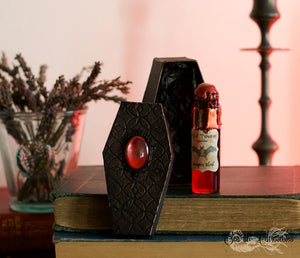 Vampire Blood Vial with Coffin box