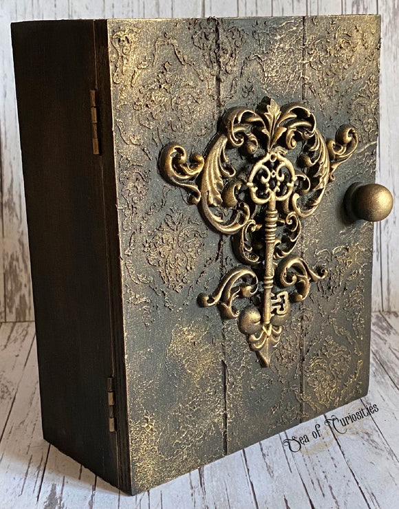 Gothic Witch Potions Wooden Key Cabinet