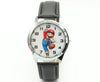 Free Shipping 1pcs Cartoon Super mario doll kids Watch Children Kids Girls Boys Students Quartz Wristwatches.