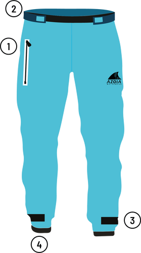 SPLASH PANTS Adraga | Women's