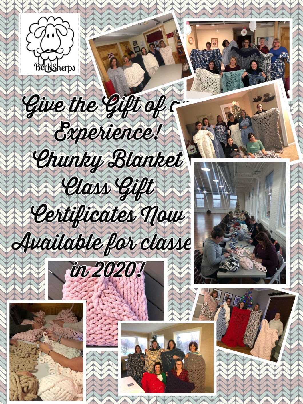 DIY Chunky Blanket Class Gift Certificate