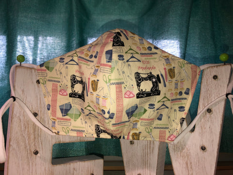 Sewing Diva Cotton Mask