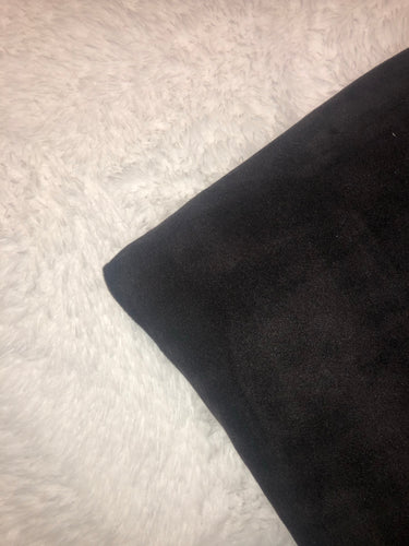 Solid Black/White Sherpa - BerkSherps XL Luxe Sherpa Cuddler