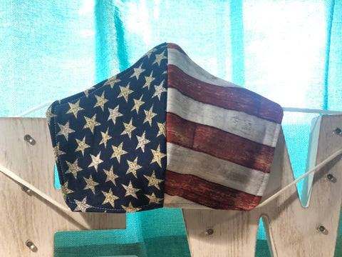 Americana Cotton Mask