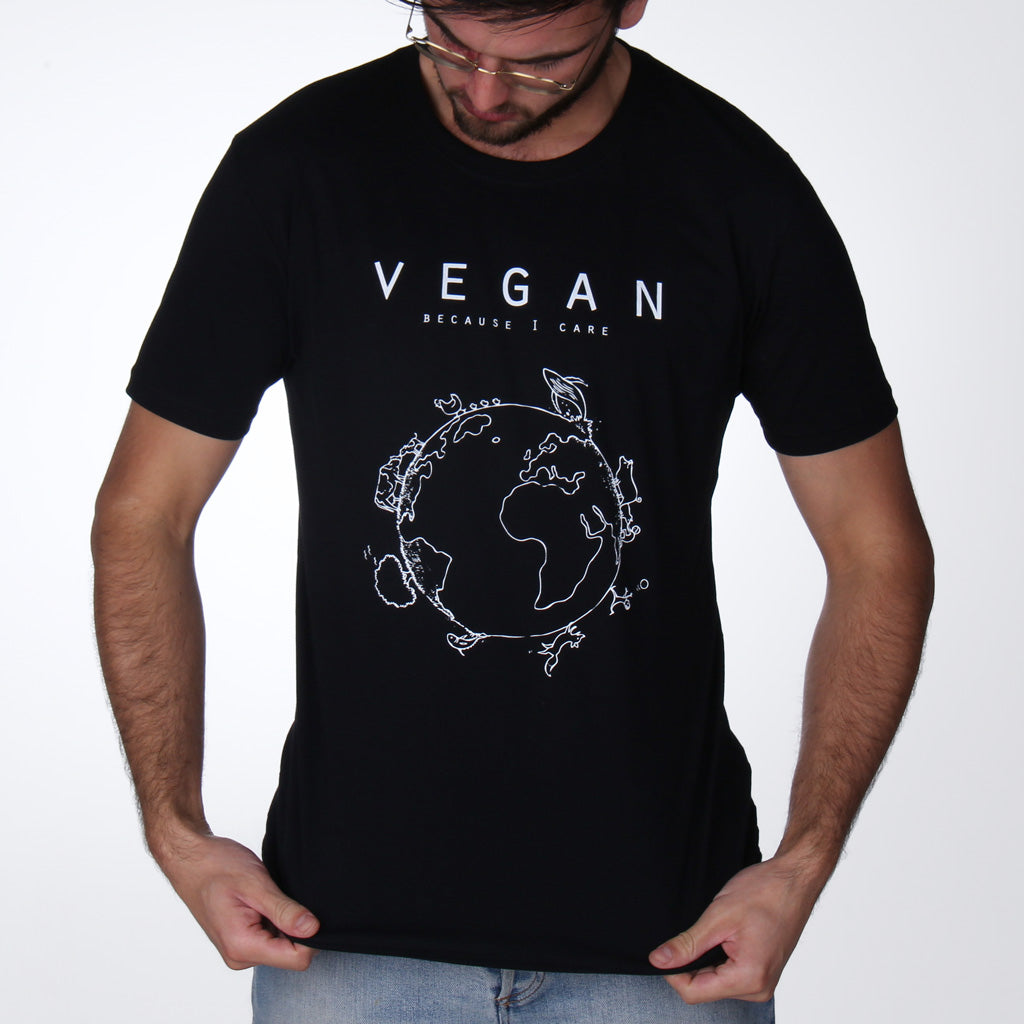 Vegan Planet (Care) - Fitted T-Shirt from By Monkey