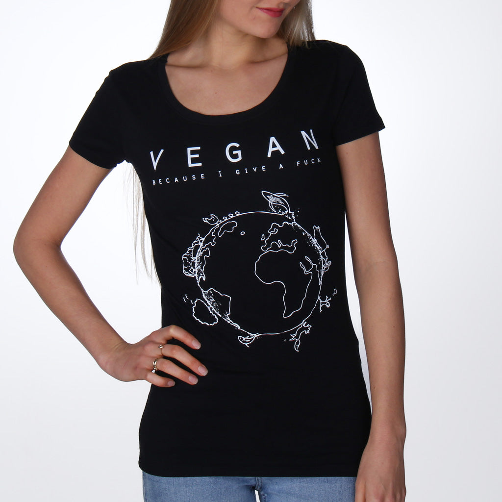 Vegan Planet - Fitted T-Shirt from By Monkey