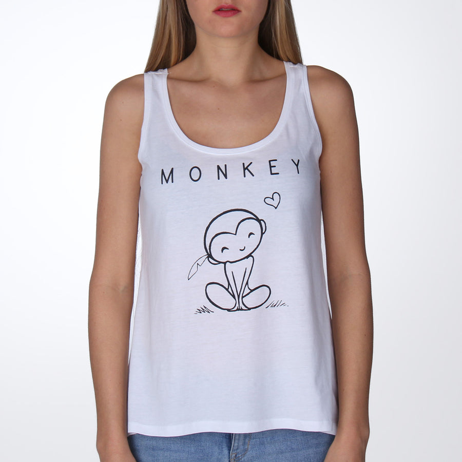 Monkey shirt met aapje - By Monkey