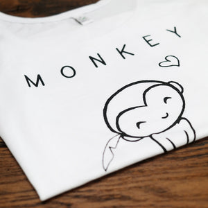 Monkey shirt design - By Monkey