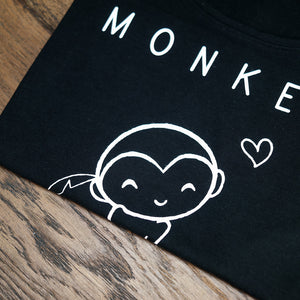 Vegan monkey t-shirt aapje tanktop - By Monkey