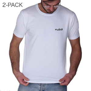(Pre-order) Noha - 2-Pack Fitted T-Shirt