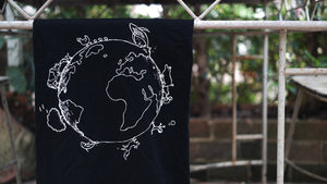 Vegan clothing - vegan for the planet design - made By Monkey