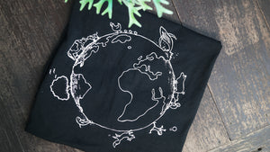 Vegan Planet (Care) - Fitted T-Shirt