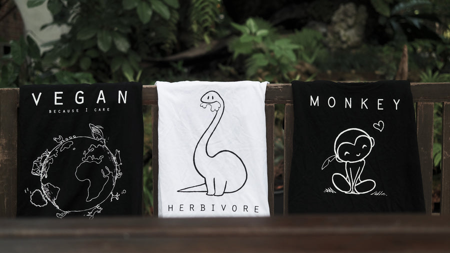 Vegan T-shirts kopen Nederland By Monkey