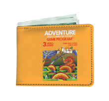 Atari 2600 Adventure Vintage Video Game Box Art Wallet