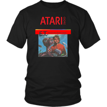 E.T. The Extra Terrestrial Atari Retro Video Game Box Art Short-Sleeve T-Shirt