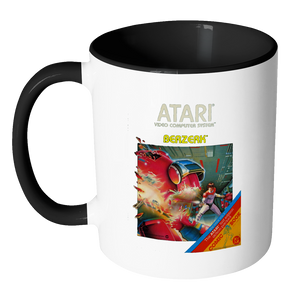 Defender Atari 2600 Retro Vintage Video Game Box Art Accent Coffee Mug
