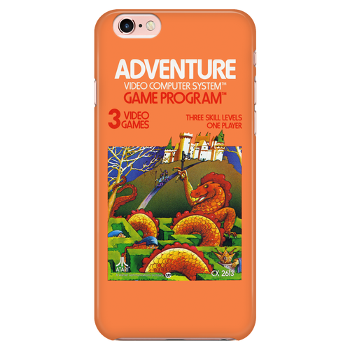 Adventure Atari 2600 Retro Vintage Video Game Box iPhone 6/7 Case