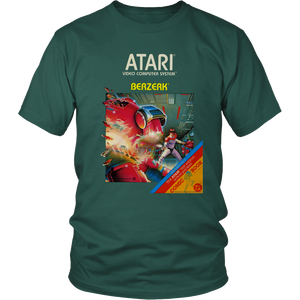 Berserk Atari 2600 Retro Vintage Video Game Box Art T-Shirt