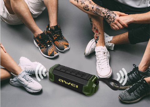 Awei Y280 Portable Waterproof Bluetooth Speaker with built-in power bank Fi61xtEh2J96BwBo hIpdiAoWThM